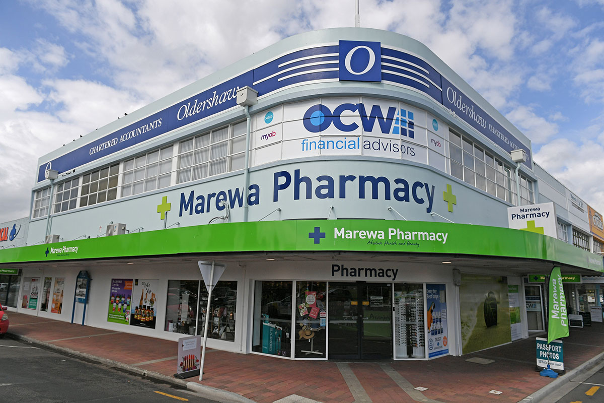 retail fit out pharmacy